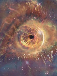The Eye of God Nebula | Image brought to you courtesy of Robot Radio, www.robotradio.com (An Alien Gift to Mankind)