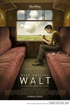Walt Disney movie about Walt Disney.  We wish!