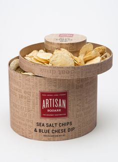 Artisan Square.   All in one packaging IMPDO.