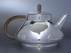 Faberge Silver Tea Set