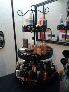 Danish Stand - use for make-up storage