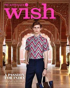 Wish Magazine (Australia) May Cover 2015