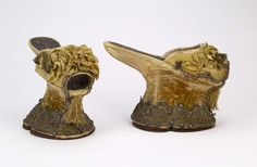 Chopines Bata Shoe Museum- late 16th c.