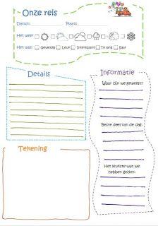 Juf Shanna - evaluatie schoolreis/uitstapje voor kinderen.