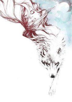 Tattoo Wolf Girl Drawing Tat 15 ideas for 2019 - Tattoo Wolf Girl Drawing Tat . - Tattoo Wolf Girl Drawing Tat 15 ideas for 2019 – Tattoo Wolf Girl Drawing Tat 15 ideas for 2019 # - Wolf Tattoos, Tatoos, Tattoo Magazin, Vogel Tattoo, Face Sketch, Girl Sketch, Wolf Sketch, Tatoo Art, Wolf Print Tattoo
