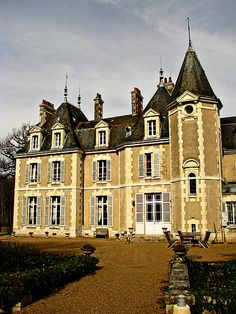 Chateau in the Loire, France