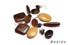 awesome Classic Handmade Natural Earrings