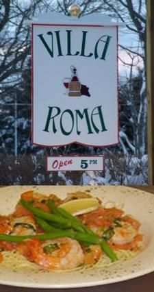 Villa Roma provides a perfect setting to enjoy a special meal that is Italian dining reminiscent of 'The North End' with a twist of Olde Cape Cod and a pinch of Americana.