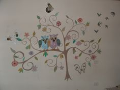 painting on the wall for kids room