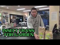 Insect Frass For Garden Insect Guano best organic soil amendment Pest Mold Cure Preventative Indoor