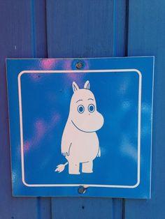 Moomin gents loo sign