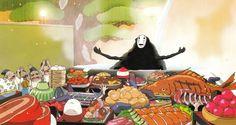Comer en Jiufen es comer como un espíritu de 'El viaje de Chihiro', solo hay que cuidarse de que la gula no nos convierta en cerdos.