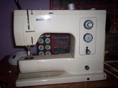 Bernina 830.  Best sewing machine ever made.  If you can get your hands on one, don't ever let it go!!!!