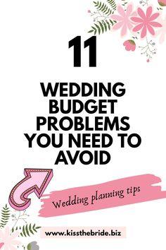 Wedding Planning On A Budget, Budget Wedding, Plan Your Wedding, Wedding Tips, Making A Budget, Wedding Costs, Budgeting Money, Ways To Save Money, Extra Money