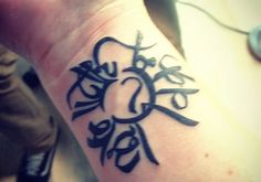 Courage and Hope Sanskrit Tattoo