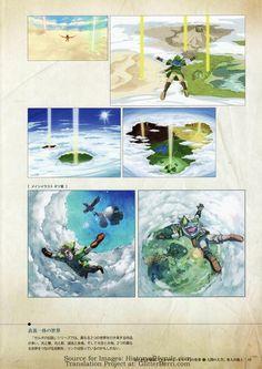 Hyrule Historia Scan - Skyward Sword