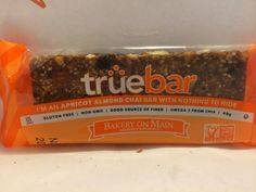 Crazy Food Dude Review: Bakery On Main Truebar I'm An Apricot Almond Chai Bar With Nothing to Hide