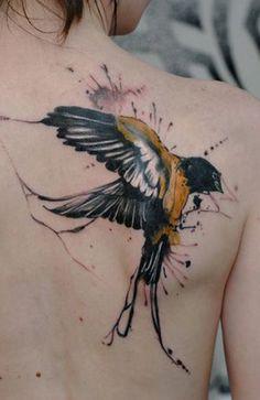 Татуировка ласточка / Tattoo swallow