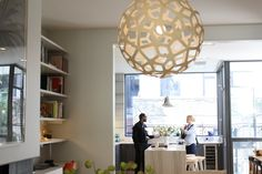Inside the City Modern Brooklyn House Tour--use of quartzite for countertop