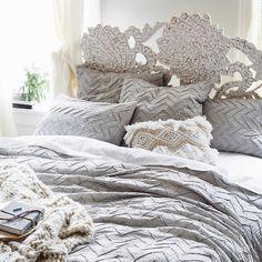 Anthropologie is having a off sale on items like furniture, bedding, and rugs. Textured Duvet Cover, Three Drawer Dresser, Restoration Hardware Bedding, Chevron Duvet Covers, Anthropologie Home, Luxury Bedding, Bed Sheets, Bedroom Decor, Blanket