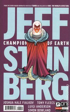 Jeff Steinberg Champion of Earth (2016) 4 Oni Press Modern Age Comic Book covers