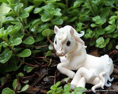 OOAK Hand Sculpted Unicorn Pony by CanterberryTails on Etsy, $25.00