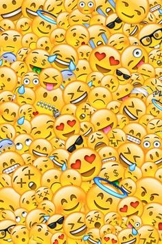 wallpaper, love, and emoji image Emoji Wallpaper Iphone, Cute Emoji Wallpaper, Cute Wallpaper Backgrounds, Pretty Wallpapers, Colorful Wallpaper, Aesthetic Iphone Wallpaper, Cartoon Wallpaper, Wallpaper Quotes, Iphone Backgrounds