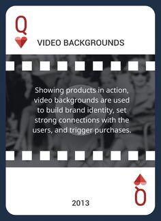 Win This Custom Card Deck & Discover Web Design Trends 2004-2014 https://www.pinterest.com/templatemonster/win-the-web-design-trends-cards/  #videobackground #webdesigntrends