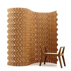 Green design: Emiliano Godoy's plywood tied together with cotton rope