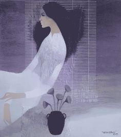 Do Duy Tuan, 1954 ~ Mixed Media Figurative painter | Tutt'Art@ | Pittura * Scultura * Poesia * Musica |