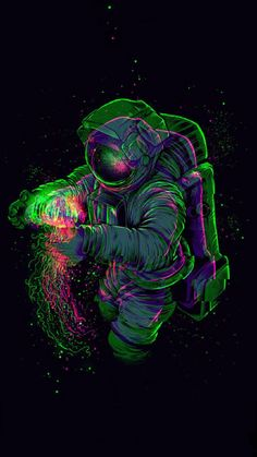 Glitch Astronaut wallpaper by deteled - 5ac3 - Free on ZEDGE™