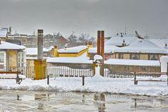Vitoria con nieve
