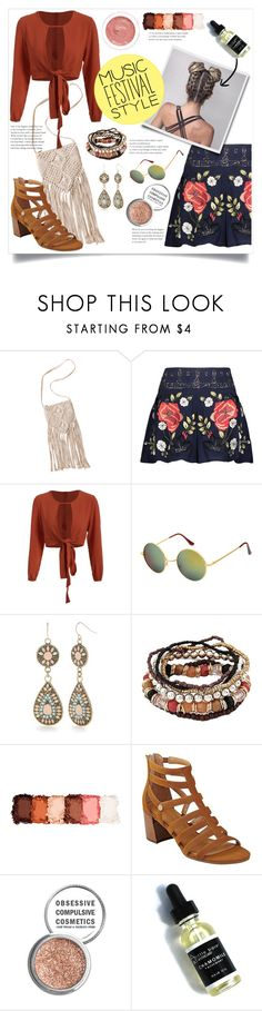 """Fashion Festival"" by pure-vnom ❤ liked on Polyvore featuring Haute Hippie, Red Camel, NYX, Tommy Hilfiger, Obsessive Compulsive Cosmetics, rms beauty and festivalfashion"