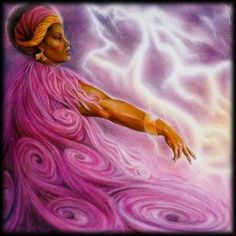 """fuckyeahitchywitch: """" Bringer of Changes, Shaper of Storms Oya is one of the most powerful African Goddesses (Orishas). A Warrior-Queen, She is the sister-wife of the God Shango, to whom She gave the. Sacred Feminine, Divine Feminine, Voodoo, Oya Goddess, Azores Portugal, African Goddess, Divine Mother, Pagan Witch, Warrior Queen"""