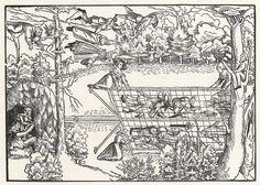 Title: Buhler Vogelherd              Tags: Katzbalger, Hat, Landsknecht, Trossfrau, Sword, Prisoner              Date: 1534                        Artist: Niklas Stör              Provenance: Germany              Collection: Herzogliches Museum (Landesmuseum)