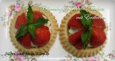 Erdbeer-Frischkäse-Torteletts Rezept zum Ausdrucken