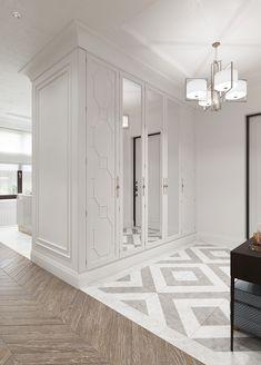Wardrobe Door Designs, Closet Designs, Home Entrance Decor, Home Office Decor, Home Hall Design, Neoclassical Interior, Dressing Room Design, Home Ceiling, Bathroom Design Luxury
