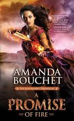 an absolutely breathtaking start to Bouchet's new series. - 4 stars and a #giveaway for A Promise of Fire by Amanda Bouchet Sourcebooks Casablanca http://purejonel.blogspot.ca/2016/07/a-promise-of-fire-by-amanda-bouchet.html