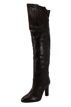 Patrizia Pepe Womens Over-Knee Boots Size 9 US / 39 EU N/A Brown Leather ** Insider's special review you can't miss. Read more  : Snow boots
