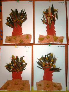 S o f i a' s K i n d e r g a r t e n: Μαθαίνουμε για την ΕΛΙΑ και το ΛΑΔΙ στο νηπιαγωγείο Olive Tree, Crafts For Kids, Blog, Painting, Preschool, Autumn, Crafts For Children, Kids Arts And Crafts, Fall Season