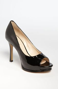 High Heel Peep Toe: Nine West 'Miss' Pump