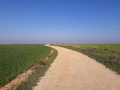 Camino - Castrojeriz - the endless Meseta - 160 km of nothing-ness between Burgos & Leon.