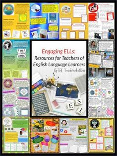 FREE! ELL sampler of resources for teaching English Language Learners; includes 20 freebies available in TpT stores as well as ideas and links to paid products.  Edited by The ESL Nexus with contributions from TpT teacher-authors.  Useful for ALL teachers