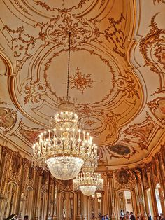 Queluz Palace, Hall of Concerts (Portugal)