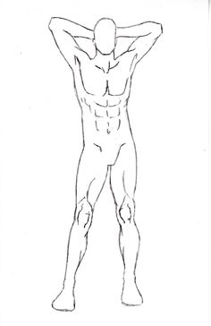Oct 2019 - Male Character Pose 5 by One-With-No-Color on DeviantArt Drawing Poses Male, Male Figure Drawing, Sketch Poses, Drawing Base, Fashion Illustration Poses, Man Illustration, Male Character, Character Design Cartoon, Base Anime