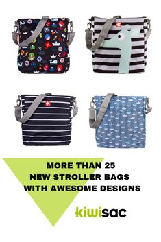 Kiwisac launches new diaper bags with the perfect size to fit all prams and strollers. Now available in Australia! Be just different a give it a chance! Designer Baby Bags, Designer Shoes, Kids Lunch Bags, Kids Bags, Maternity Bags, Stroller Bag, Coach Store, Toddler Backpack, Baby Diaper Bags