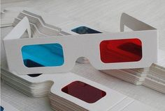 3D glasses doctor who cosplay by GeekFlux on Etsy, $1.99