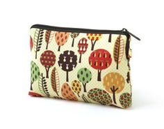 eThreads Retro Fruit Trees Cotton Medium Pouch eThreads. $26.00