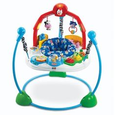 Fisher-Price Laugh & Learn Jumperoo - Your little one will jump for joy in this Fisher-Price Laugh & Learn Jumperoo . Its stable, freestanding design offers baby a variety of toys,. Animal Activities, Infant Activities, Early Learning, Fun Learning, Baby Bouncers And Jumpers, Baby Activity Jumper, Best Baby Bouncer, Baby Workout, Musical Toys