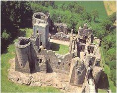 Pontefract Castle, Yorkshire UK - Richard II imprisoned & killed here.